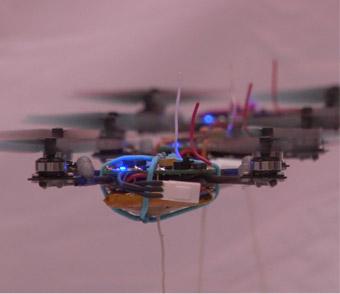 Nano-Quadcopter Robots